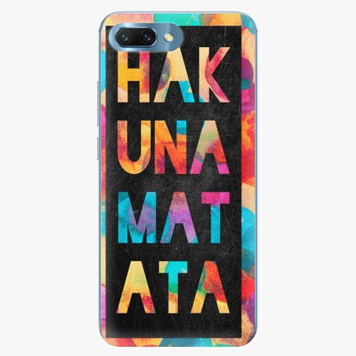 Plastový kryt iSaprio - Hakuna Matata 01 - Huawei Honor 10