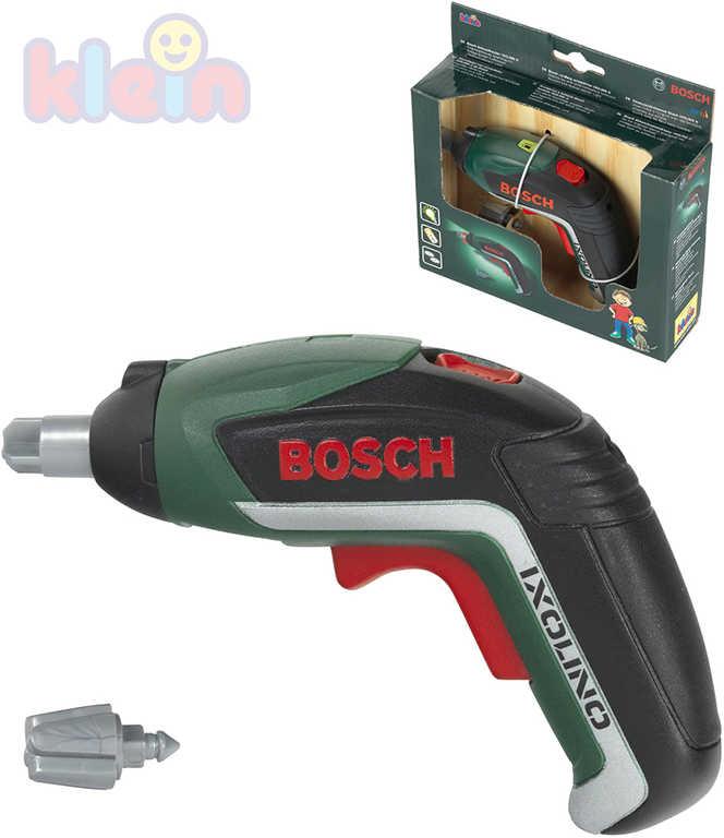 KLEIN Aku šroubovák dětský Bosch na baterie Světlo Zvuk plast