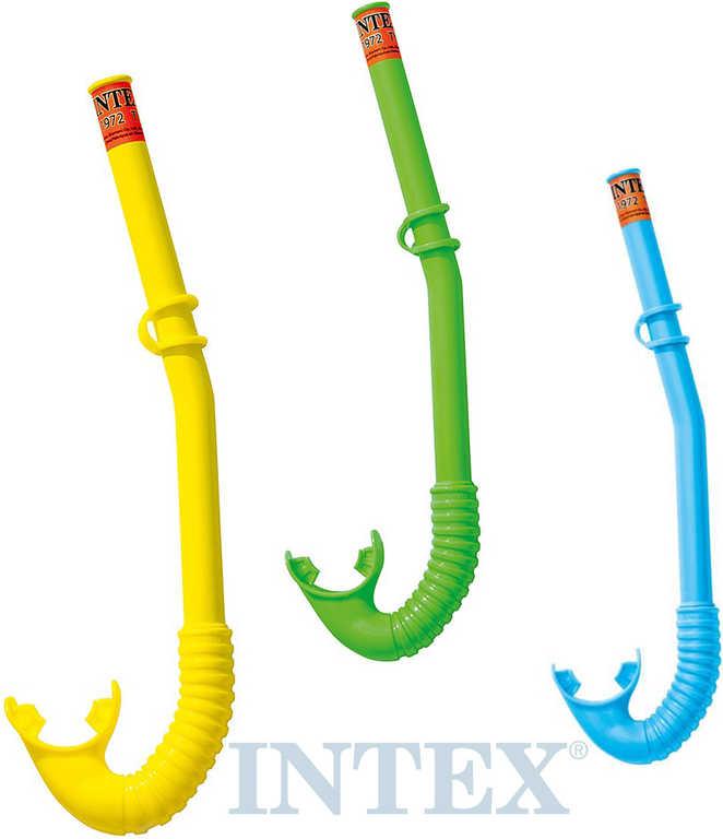 INTEX Šnorchl dětský na potápění do vody 3 barvy 55922