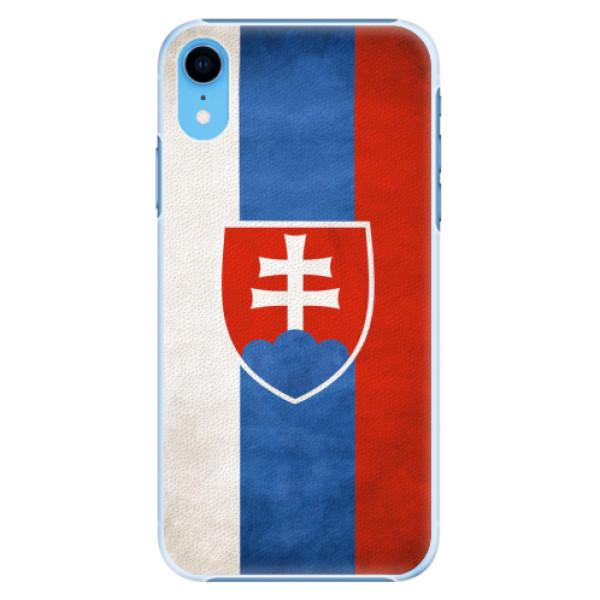 Plastové pouzdro iSaprio - Slovakia Flag - iPhone XR