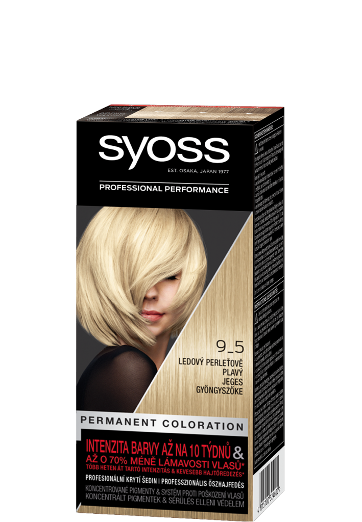 Barva na vlasy Ledový Perleťově Plavý 9-5