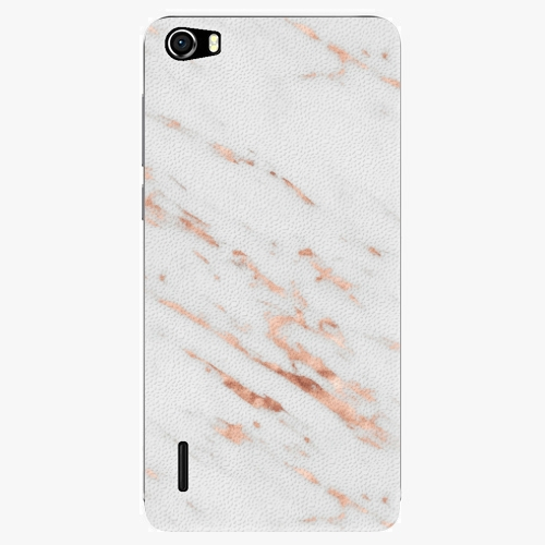 Plastový kryt iSaprio - Rose Gold Marble - Huawei Honor 6
