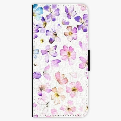 Flipové pouzdro iSaprio - Wildflowers - Samsung Galaxy S8 Plus