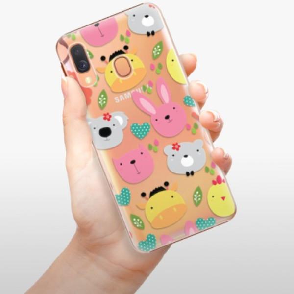 Plastové pouzdro iSaprio - Animals 01 - Samsung Galaxy A40