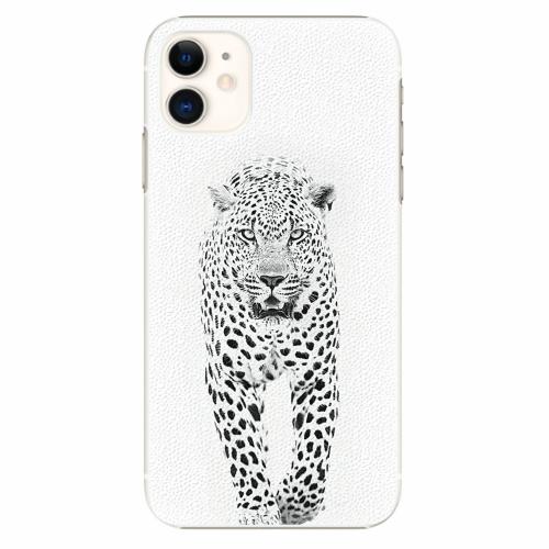 Plastový kryt iSaprio - White Jaguar - iPhone 11