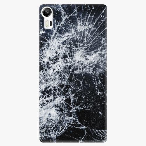 Plastový kryt iSaprio - Cracked - Lenovo Vibe Shot