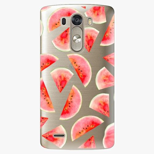 Plastový kryt iSaprio - Melon Pattern 02 - LG G3 (D855)