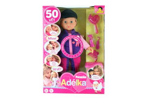 Panenka Adélka, 50 vět, žokejka, 40 cm