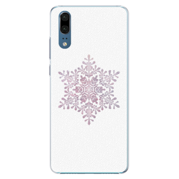 Plastové pouzdro iSaprio - Snow Flake - Huawei P20