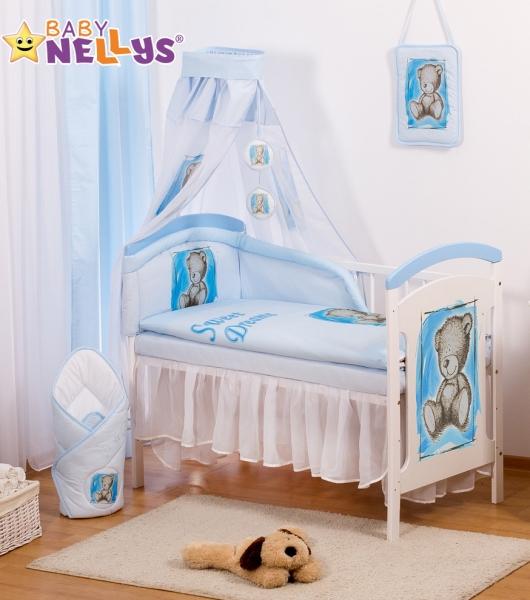 Šifónová nebesa Sweet Dreams by TEDDY - modré/bílé