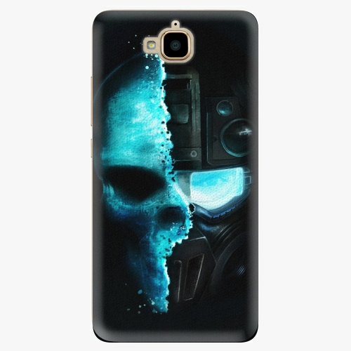 Plastový kryt iSaprio - Roboskull - Huawei Y6 Pro
