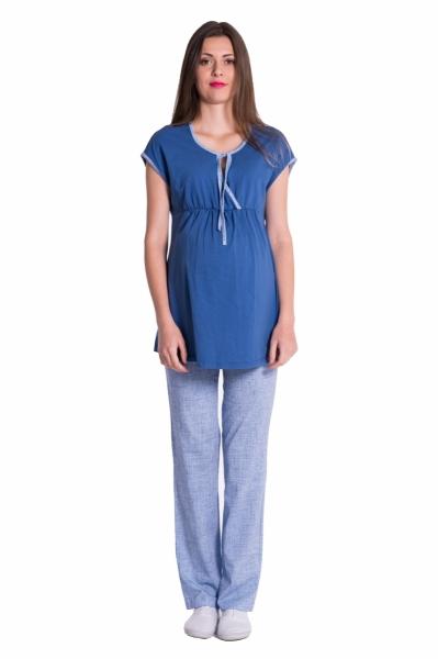 be-maamaa-tehotenske-kojici-pyzamo-jeans-modra-vel-m-m-38