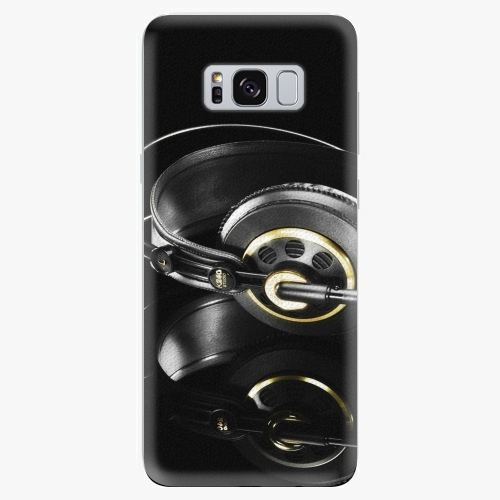 Plastový kryt iSaprio - Headphones 02 - Samsung Galaxy S8 Plus