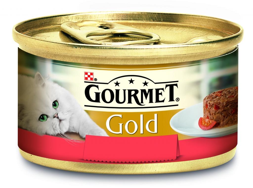 Gold Savoury Cake S hovězím a rajčaty 85 g