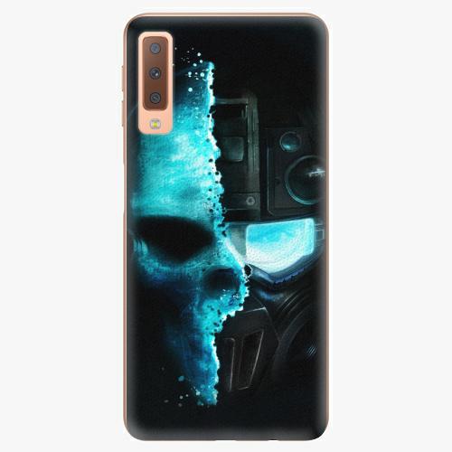 Plastový kryt iSaprio - Roboskull - Samsung Galaxy A7 (2018)