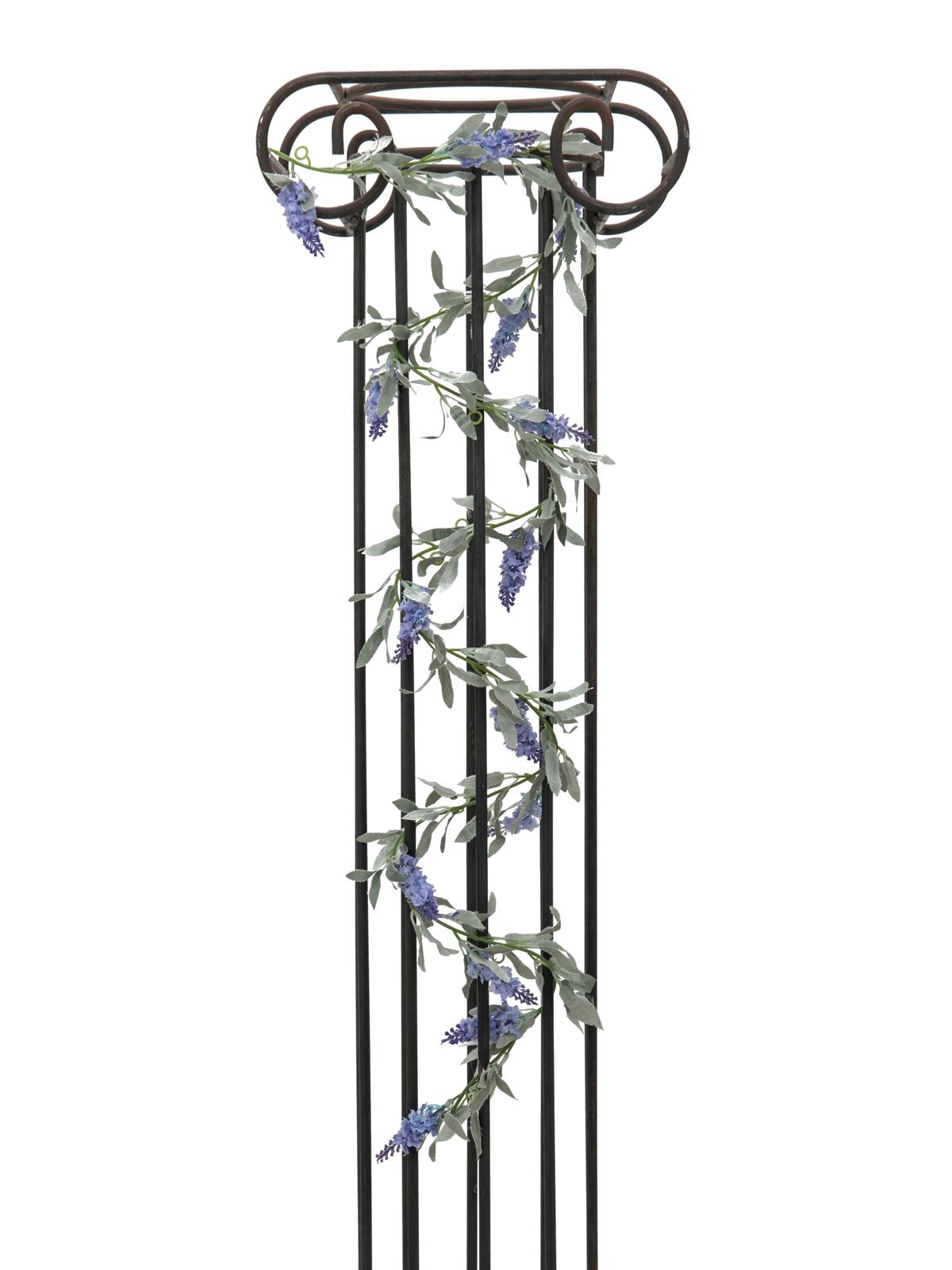 Kvetoucí girlanda, modrá, 180 cm