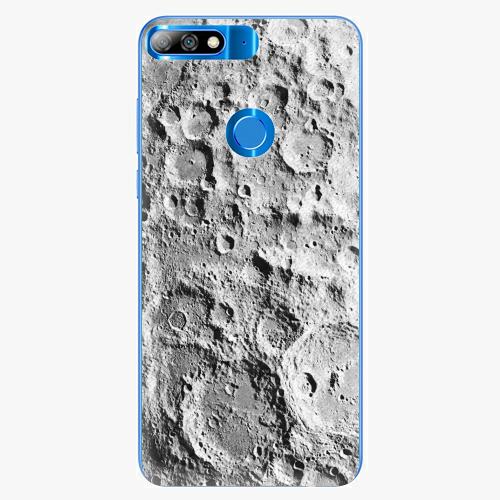 Silikonové pouzdro iSaprio - Moon Surface - Huawei Y7 Prime 2018