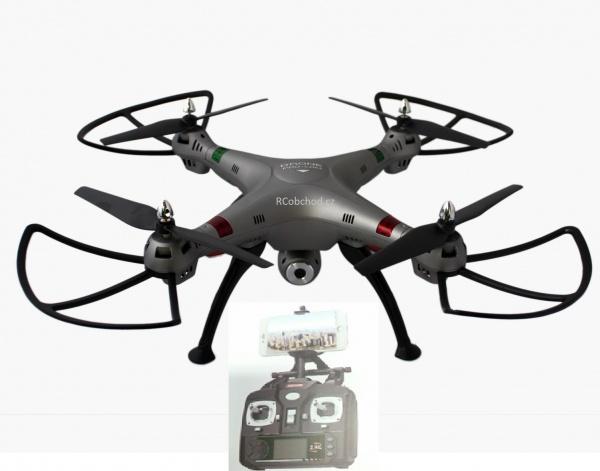 K800WiFi - RC dron s online přenosem do mobilu/tabletu přes WiFi