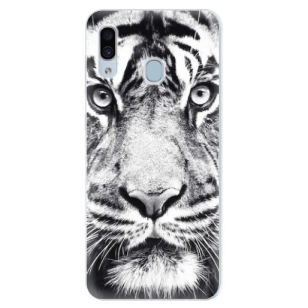 Silikonové pouzdro iSaprio - Tiger Face - Samsung Galaxy A30