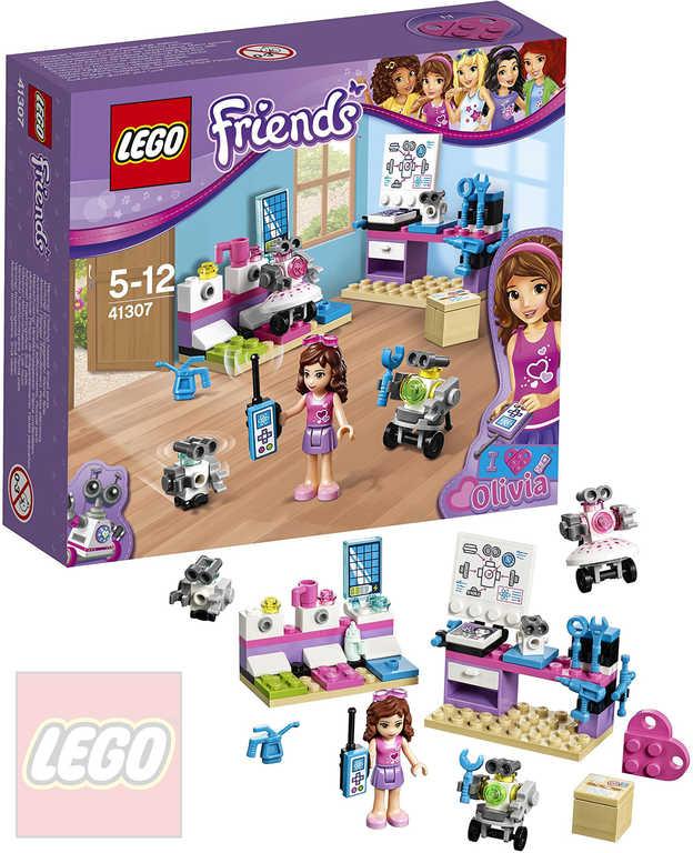 LEGO FRIENDS Olivia a tvůrčí laboratoř 41307 STAVEBNICE