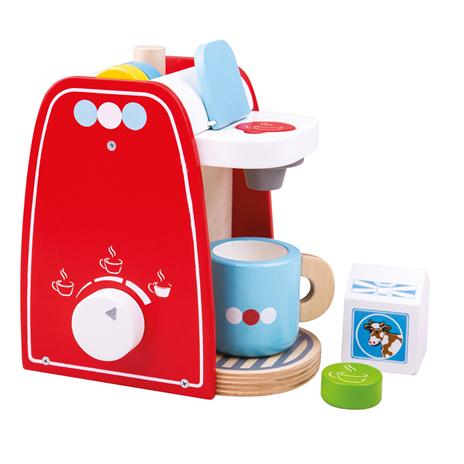Bigjigs Toys Dřevěný kávovar