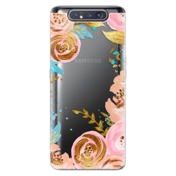 Odolné silikonové pouzdro iSaprio - Golden Youth - Samsung Galaxy A80