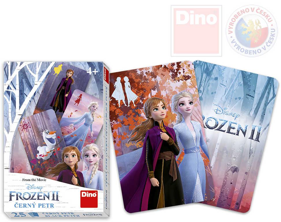 DINO Hra karetní Černý Petr Frozen II (Ledové Království) *SPOLEČENSKÉ HRY*