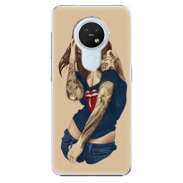 Plastové pouzdro iSaprio - Girl 03 - Nokia 7.2