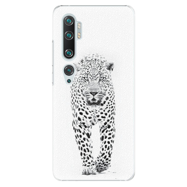 Plastové pouzdro iSaprio - White Jaguar - Xiaomi Mi Note 10 / Note 10 Pro