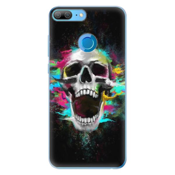 Odolné silikonové pouzdro iSaprio - Skull in Colors - Huawei Honor 9 Lite
