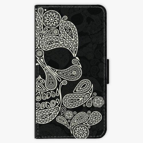 Flipové pouzdro iSaprio - Mayan Skull - Lenovo Moto G4 / G4 Plus