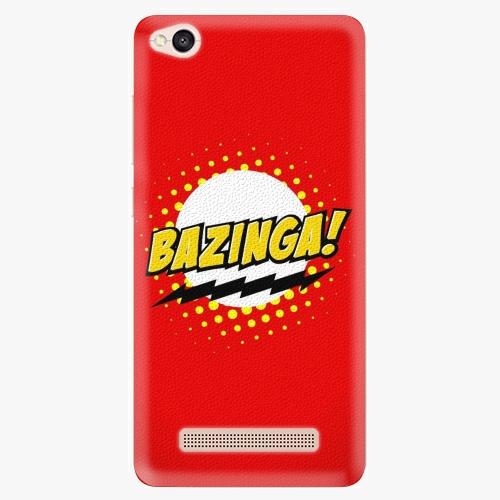 Plastový kryt iSaprio - Bazinga 01 - Xiaomi Redmi 4A