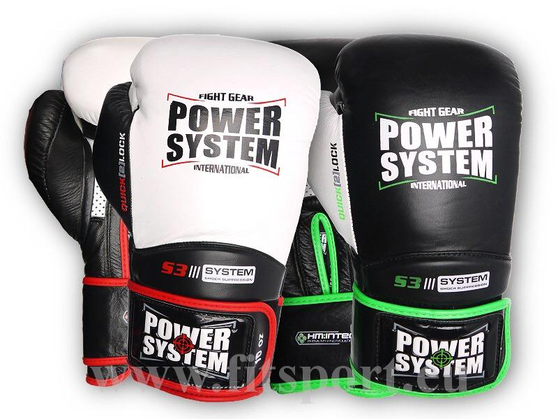 PowerSystem boxerské rukavice IMPACT