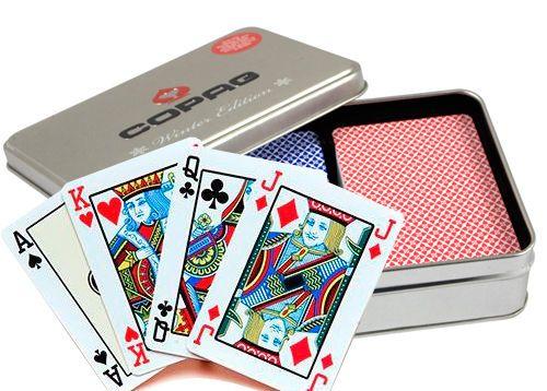 Poker karty Copag Zimní edice, 100% plast