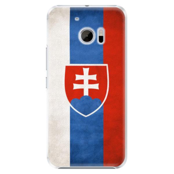 Plastové pouzdro iSaprio - Slovakia Flag - HTC 10