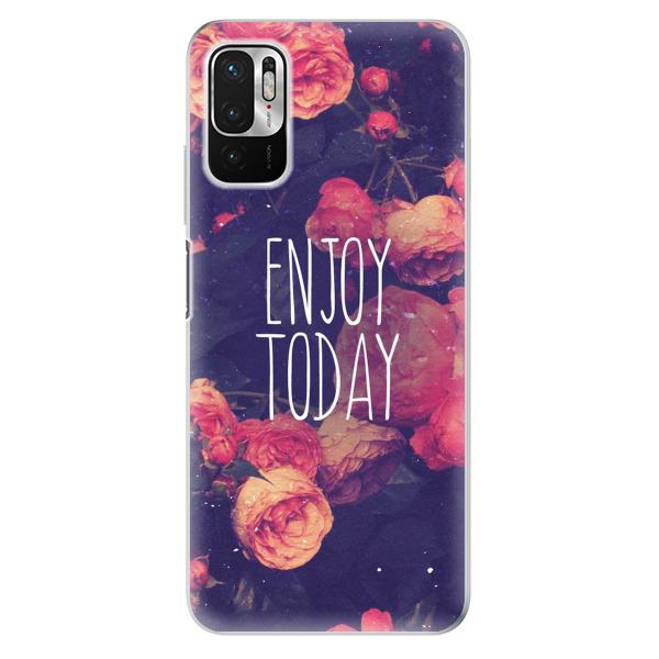 Odolné silikonové pouzdro iSaprio - Enjoy Today - Xiaomi Redmi Note 10 5G