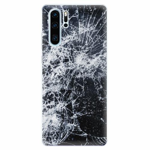 Silikonové pouzdro iSaprio - Cracked - Huawei P30 Pro