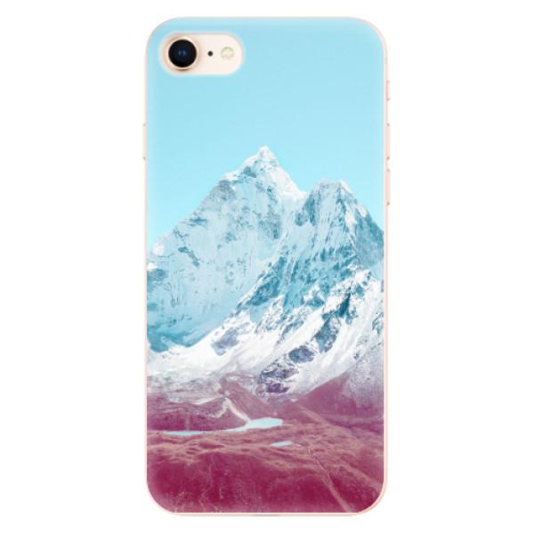 Odolné silikonové pouzdro iSaprio - Highest Mountains 01 - iPhone 8