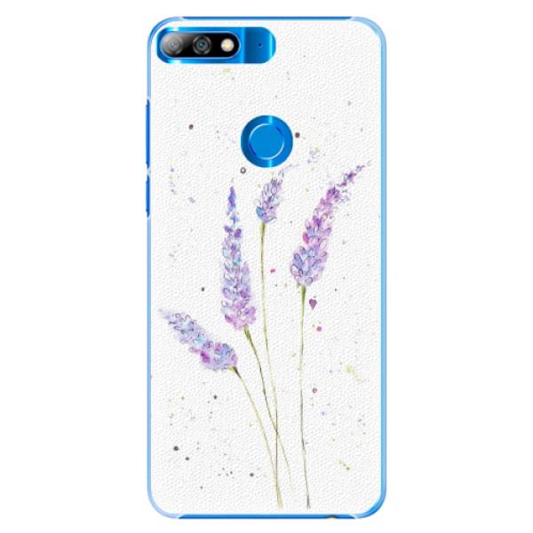 Plastové pouzdro iSaprio - Lavender - Huawei Y7 Prime 2018
