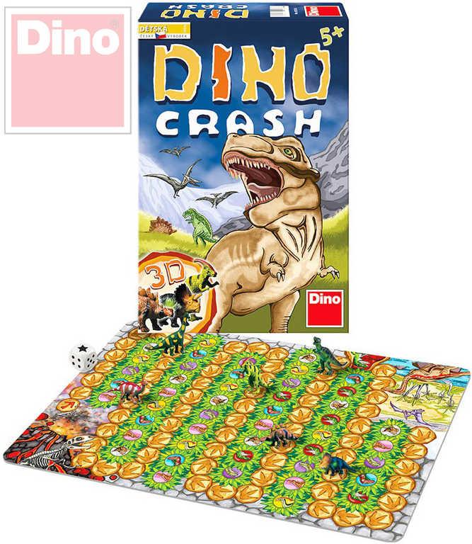 DINO Hra Dino Crash v krabici *SPOLEČENSKÉ HRY*