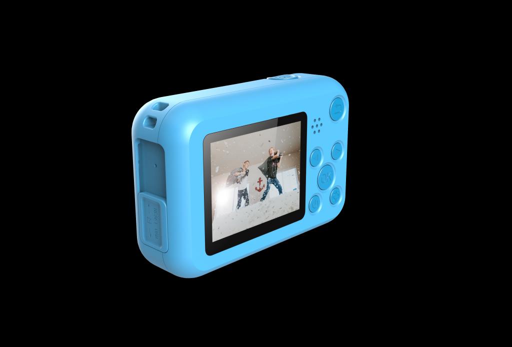 Kamera pro nejmenší SJCAM F1 FunCam - modrá