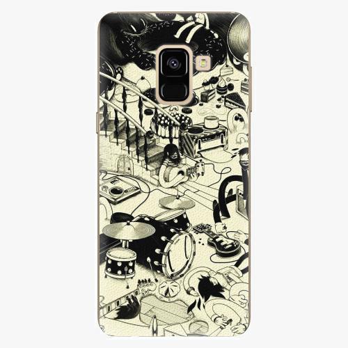 Plastový kryt iSaprio - Underground - Samsung Galaxy A8 2018