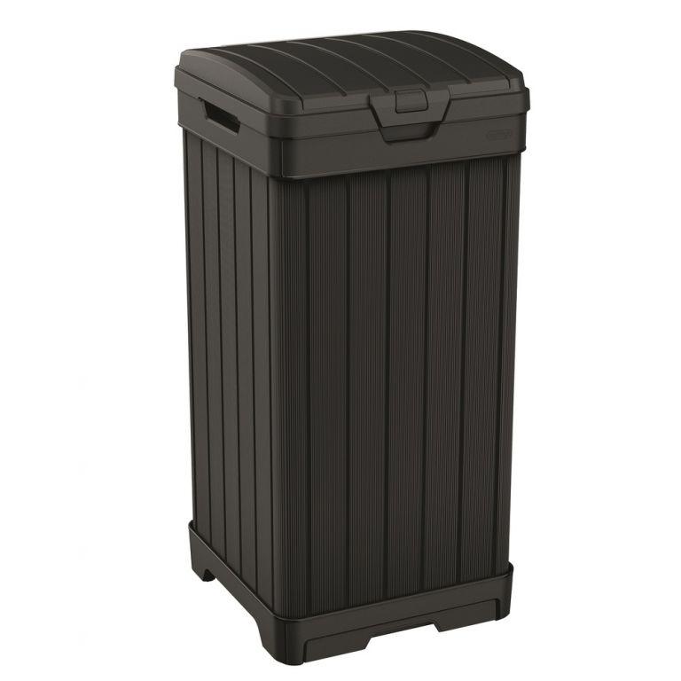 Odpadkový plastový koš BALTIMORE - 125 L
