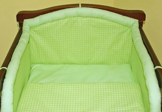 mamo-tato-mantinel-s-povlecenim-kosticka-zelena-135x100