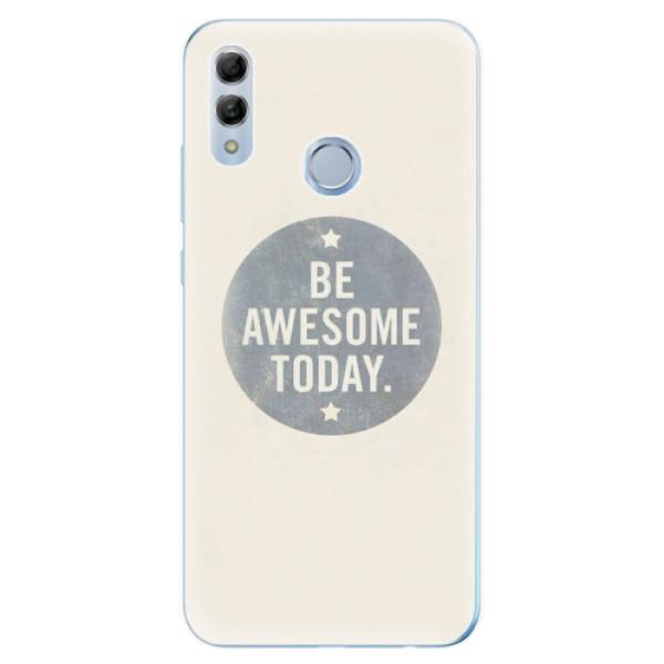 Odolné silikonové pouzdro iSaprio - Awesome 02 - Huawei Honor 10 Lite