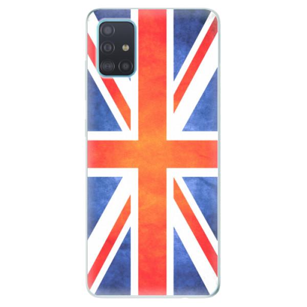 Odolné silikonové pouzdro iSaprio - UK Flag - Samsung Galaxy A51