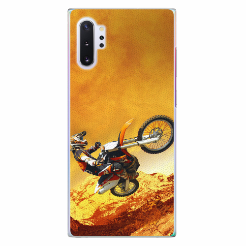 Plastový kryt iSaprio - Motocross - Samsung Galaxy Note 10+