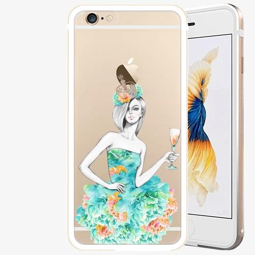 Plastový kryt iSaprio - Queen of Parties - iPhone 6 Plus/6S Plus - Gold