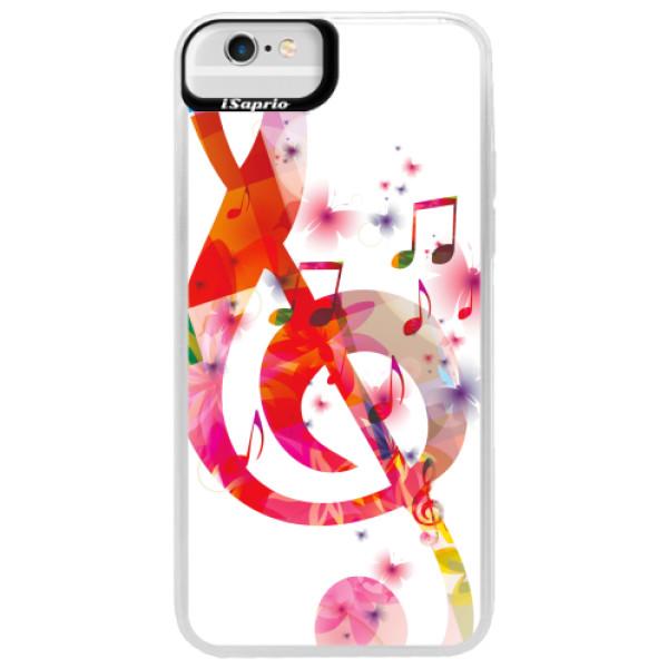 Neonové pouzdro Blue iSaprio - Love Music - iPhone 6 Plus/6S Plus