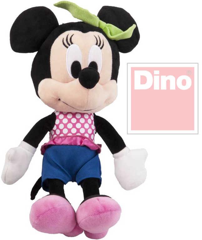 DINO Plyš Disney myška Minnie 25cm v džínách *PLYŠOVÉ HRAČKY*